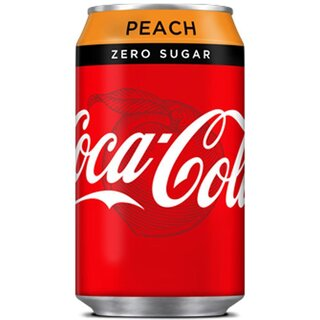 Coca-Cola - Zero Sugar Peach - 330 ml