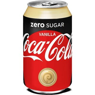 Coca-Cola - Zero Sugar Vanilla - 330 ml
